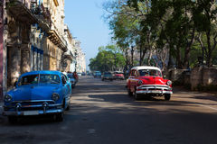 Classic old car on streets of Havana, Cuba. Classic old car on streets of Havana, Cuba Royalty Free Stock Photography