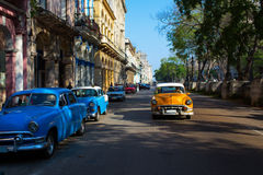 Classic old car on streets of Havana, Cuba. Classic old car on streets of Havana, Cuba Stock Photography