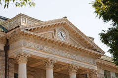 Classic Old County Courthouse Royalty Free Stock Photos