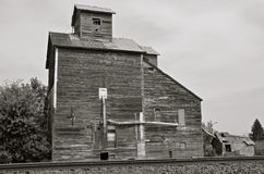 Classic old grain elevator Stock Image