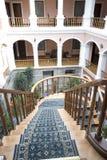 Classic old hotel quito ecuador Stock Images