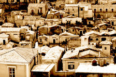 Classic old Italy ,Sicily, Modica Stock Photos