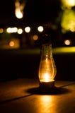 Classic old lantern bokeh Royalty Free Stock Image