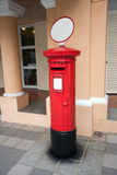 Classic old postbox on the street of the Singapore Stock Photography