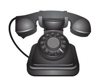 Classic old telephone Stock Photo