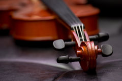 Classic old violin vintage Stock Images