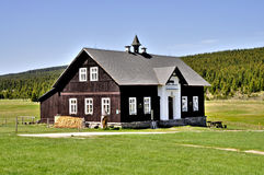 Classic old wooden cottage Stock Photo