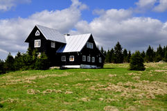 Classic old wooden cottage Royalty Free Stock Photography