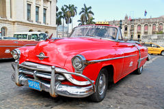 Classic Oldsmobile  in Havana. Cuba, Royalty Free Stock Image