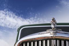 Classic 1949 oldtimer Jaguar Mark V, 4-door saloon Royalty Free Stock Photo