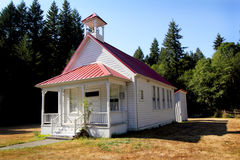 Classic One Room School House Stock Image