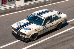 Classic Opel Ascona race car Royalty Free Stock Photos