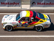 Classic Opel Kadett race car Royalty Free Stock Images