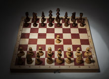 Classic Opening of Chess Game. Stock Images