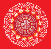 Classic Oriental Pattern background Stock Image