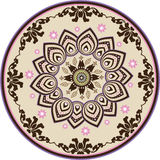 Classic ornamental flower mandala Royalty Free Stock Photography