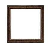 Classic painting canvas frame isolated. On white background royalty free stock photography