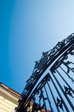 Classic palace gate Stock Photography