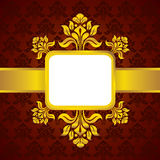 Classic pattern background and vintage Royalty Free Stock Images