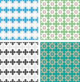 Classic pattern with decorative elements Royalty Free Stock Image