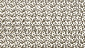 Classic Pattern Fretwork. Gold unique Royalty Free Stock Photo