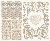 Classic patterns Stock Image