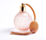 Classic perfume bottle Royalty Free Stock Photos