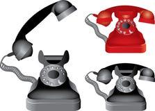 Classic phone Stock Image