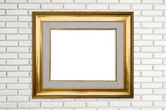 classic photo frame Stock Image