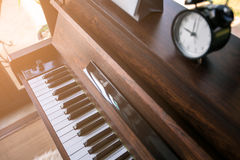 Classic piano  at Bangkok in Thailand Stock Photography