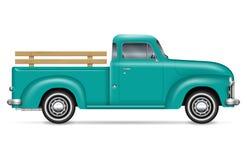 Free Classic Pickup Truck Vector Illustration Stock Photos - 128405933