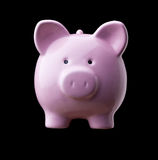 Classic piggy bank Stock Photography