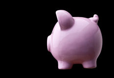 Classic piggy bank Royalty Free Stock Photography