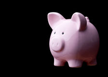 Classic piggy bank Royalty Free Stock Images