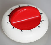 Classic plastic kitchen timer Stock Photo