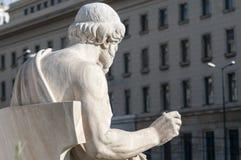 Classic Plato statue. Classic statues Plato in athens Stock Photo