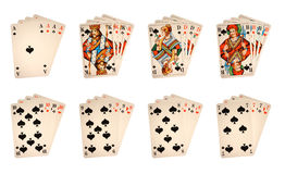 Classic playing cards Stock Photography