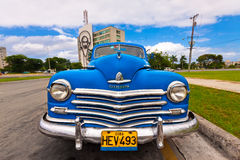 Classic Plymouth in Havana Royalty Free Stock Photo