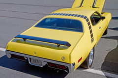 Classic 1971 Plymouth Roadrunner Automobile Stock Photos