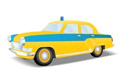 Classic police car of the USSR Royalty Free Stock Photo