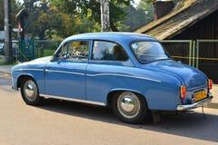 Classic Polish car at a car show Stock Photography