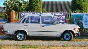 Classic Polish Car Stock Photography