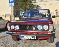 Classic Polish Car Stock Images