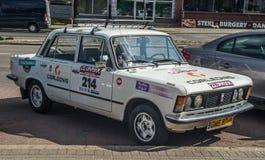 Classic Polish car Polski Fiat 125p Royalty Free Stock Images