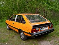 Classic Polish Car Polonez 2000 Stock Photography