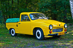 Classic Polish car Syrena R20 at a car show Royalty Free Stock Images
