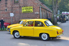 Classic Polish Car Syrena 105 Stock Photos