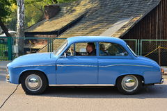 Classic Polish Car Syrena 104 Royalty Free Stock Photos