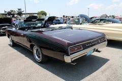 Classic pontiac convertible Stock Image