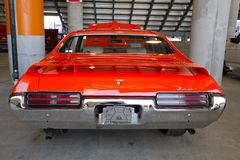 Classic 1969 Pontiac GTO Automobile Stock Image